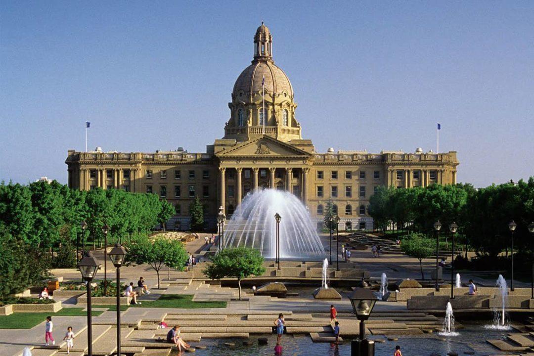 Constable Ezio Faraone Memorial Park & Alberta Legislature