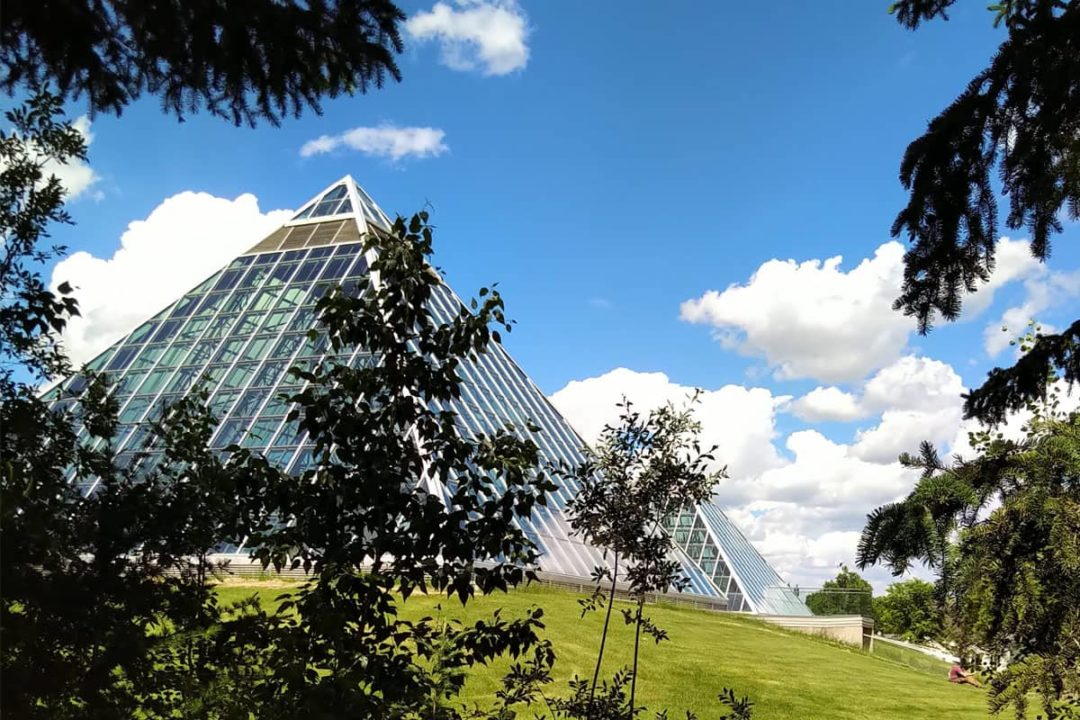 Muttart Conservatory and Outside Gardens
