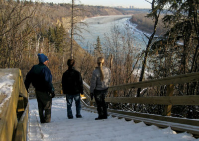Fort Edmonton Footbridge Loop – Patricia Ravine